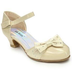 Jelly beans cream colored heels
